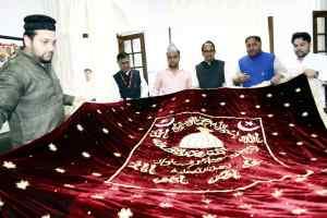 मुख्यमंत्री चौहान ने अजमेर शरीफ के लिये रवाना की चादर