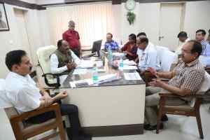 बैकलॉग पदों पर भर्ती शीघ्र की जाये : राज्य मंत्री लाल सिंह आर्य