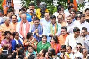 कर्नाटक की जीत प्रधानमंत्री के सशक्त नेतृत्व और राष्ट्रीय अध्यक्ष के कुशल संगठन शिल्प की जीत