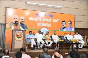 जनता चौथी बार आशीर्वाद देने के लिए आतुर कार्यकर्ता मेहनत से सरकार बनायेंगे