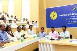 विधानसभा चुनाव-2018 के संदर्भ में हुई राजनैतिक दलों की कार्यशाला