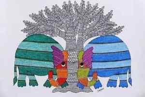 मध्यप्रदेश की समृद्ध गोंड कला परम्पराएँ पूरे वर्ष दुनिया को दिखेंगी