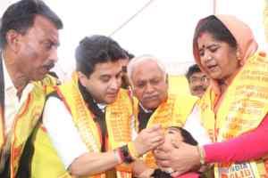 शुद्ध के लिए युद्ध अभियान से स्वास्थ्य सेवाएं होंगी बेहतर-पूर्व केन्द्रीय मंत्री श्री सिंधिया