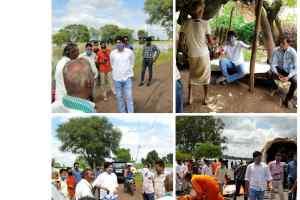 भाजपा युवा नेता मुदित ने दुरभाष से जाना बाढ़ पीड़ितों का हाल
