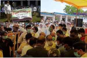 मध्यप्रदेश राज्य कर्मचारी संघ ने बहु प्रतिक्षित मांगो को लेकर मुख्यमंत्री को दिया मांग पत्र