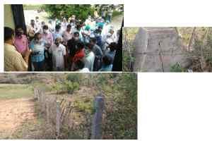 राजस्व विभाग ने ग़रीबों को कृषि के लिये पट्टे पर दी भूमि पर लगा दिये बड़े झाड़ का जंगल